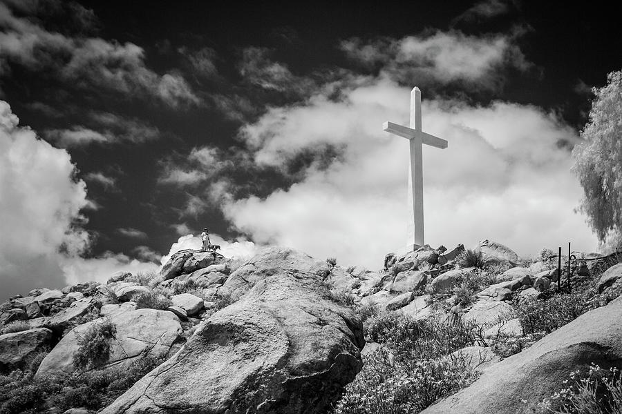 Mt. Rubidoux Photograph - Mt. Rubidoux by G Wigler