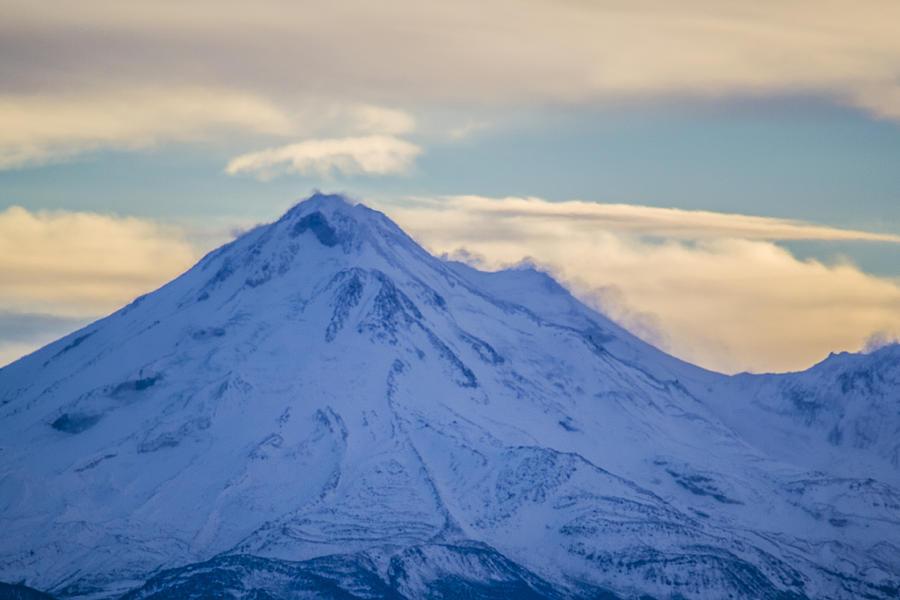 Mt Shasta Photograph - Mt. Shasta Snow Drifts by Jason McMurry