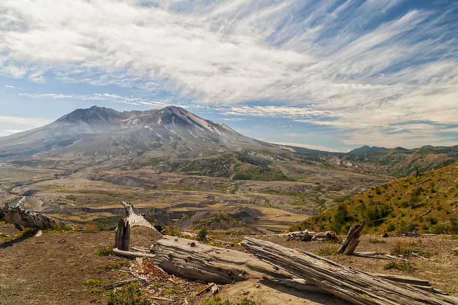 Landscape Photograph - Mt St Helens by Brian Harig