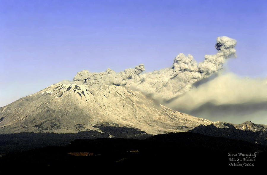 Mt St Helens Eruption Photograph By Steve Warnstaff