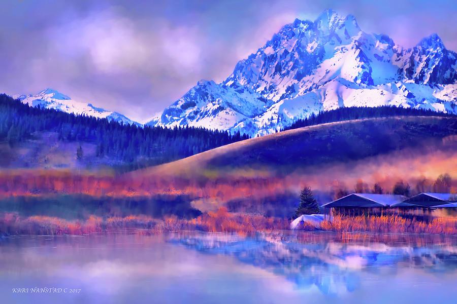 Mt. Stuart by Kari Nanstad