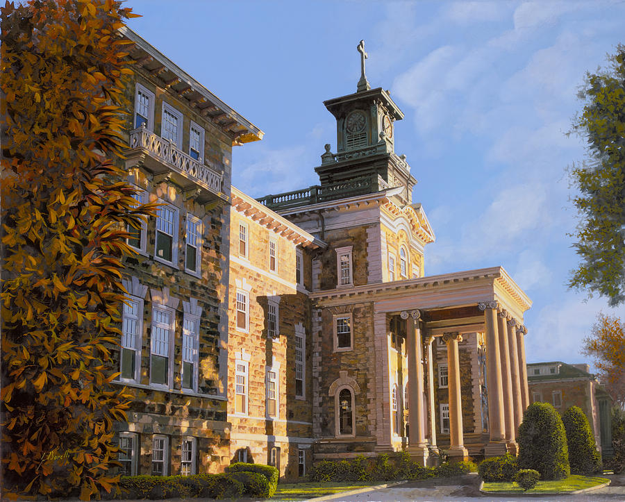 New Jersey Painting - Mt St.Mary Academy by Guido Borelli