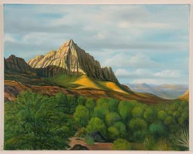 Mt Zion National Park Painting by Joseph Greenawalt