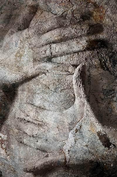Art Nude Photograph - Muddy Hands by Patrick Steyn
