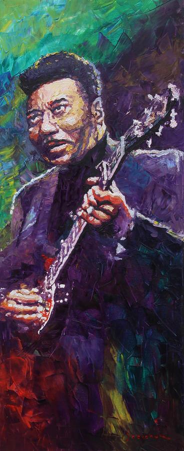 Oil Painting - Muddy Waters 4 by Yuriy Shevchuk