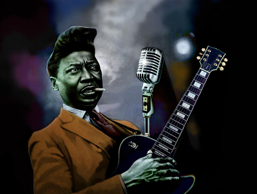 Muddy Waters - Mick Jagger's Grandfather by Dan Haraga