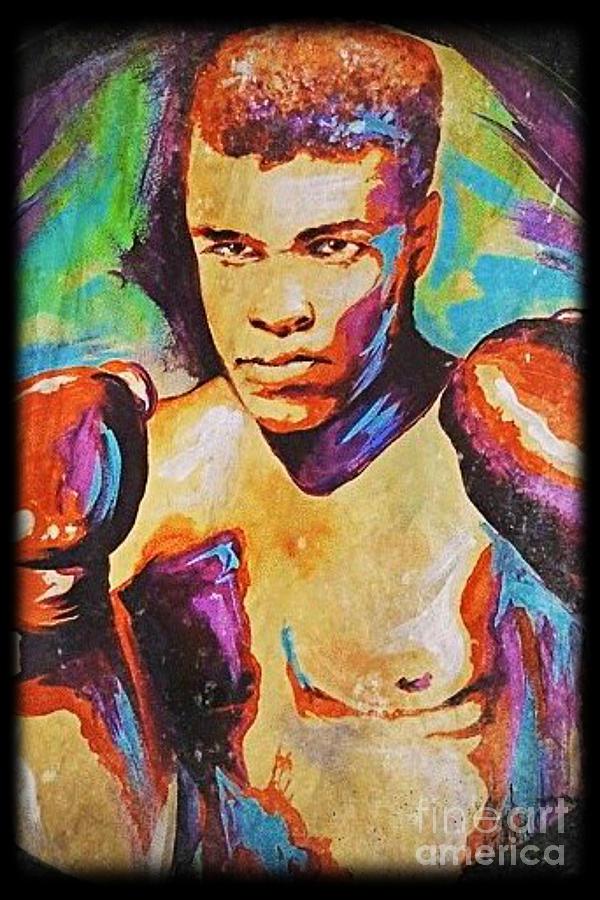 Ali Painting - Muhammad Ali by Amy Belonio