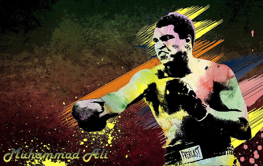 Ali Digital Art - Muhammad Ali  by Manjot Singh Sachdeva
