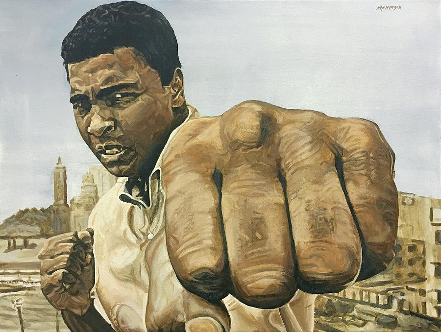 Muhammad Ali by Michael Morgan