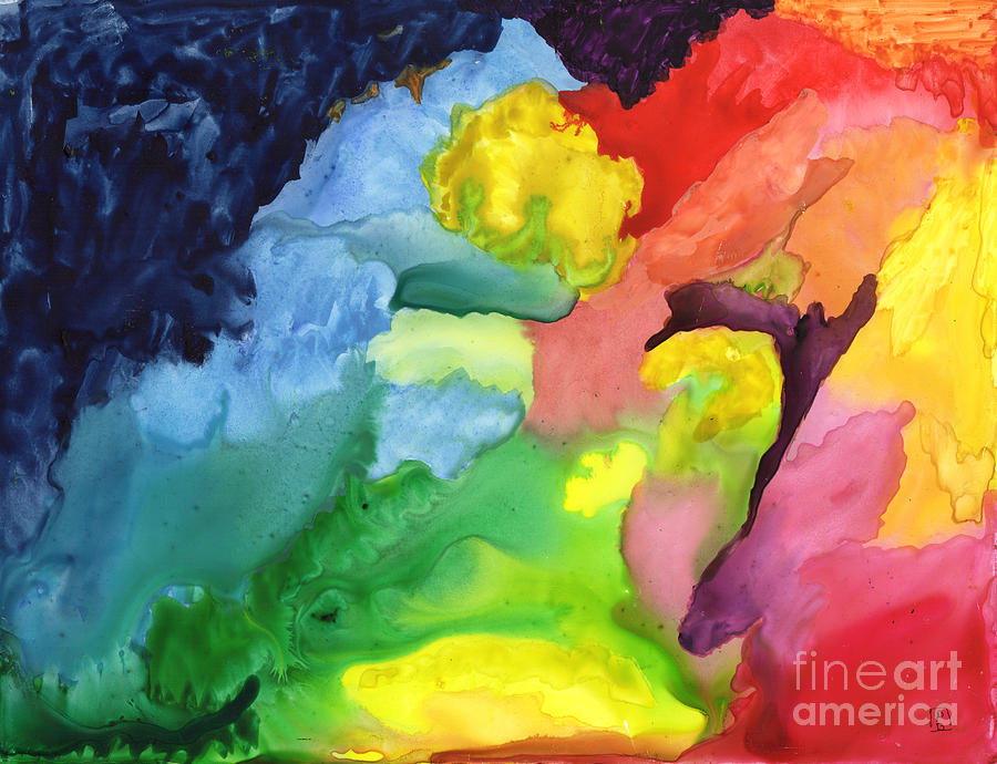 Mulitcolor Abstract by Phyllis Brady