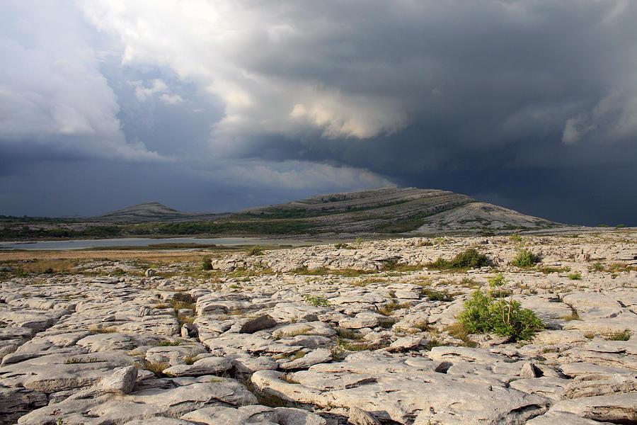 Burren Photograph - Mullaghmore Mountain by John Quinn