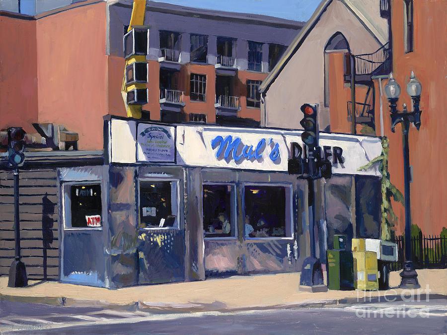 Muls Painting - Muls by Deb Putnam
