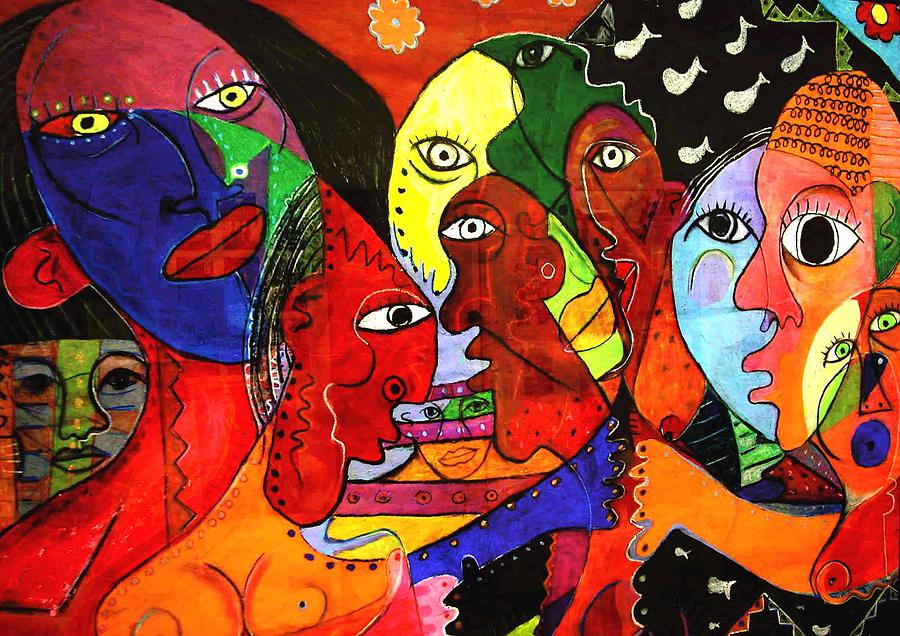 Multicultural  Painting by Robert Daniels