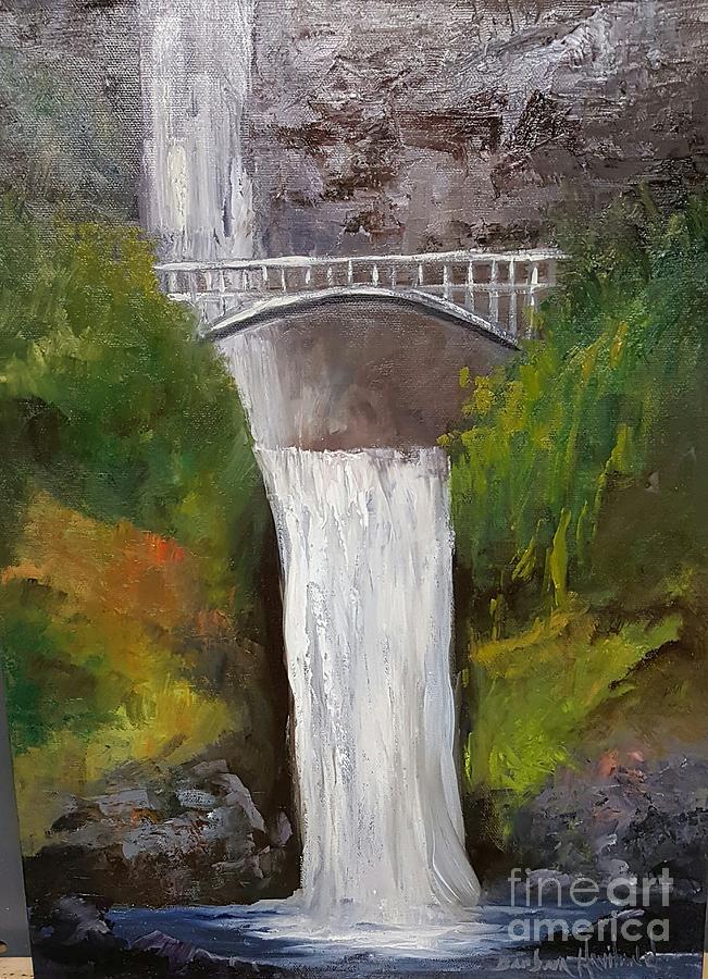Multnomah Falls by Barbara Haviland