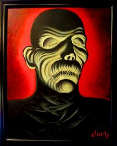 Mummy Painting by Durb Morrison