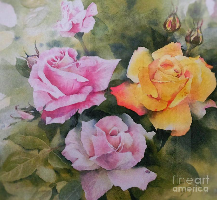 Mum's Roses by Sandra Phryce-Jones