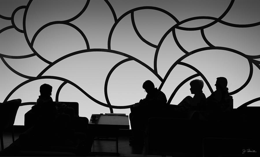 Munich Airline Passenger Lounge by Joe Bonita