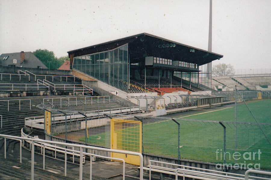 East Side München munich grunwalder stadium east side tribune may 2001 photograph by legendary football grounds