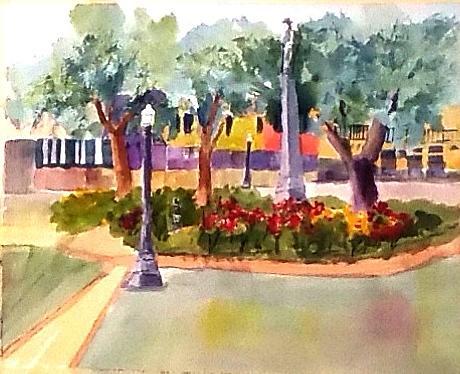 Munn Park, Lakeland, FL by Larry Hamilton
