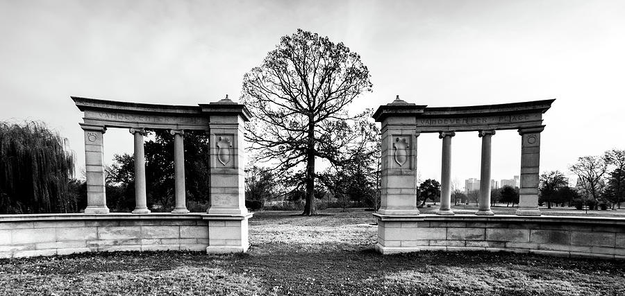 Muny Photograph - Muny Columns 2 by Steven Jones