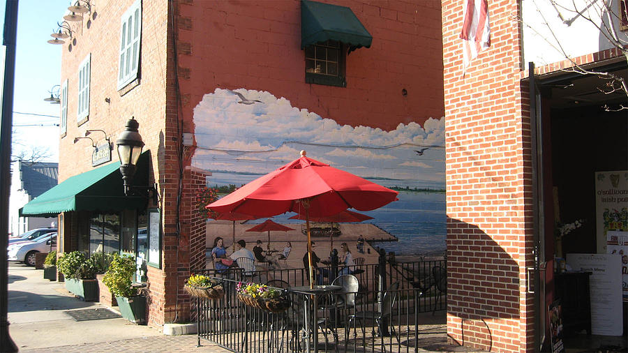 Mural Ice House Cafe By Keith Naquin