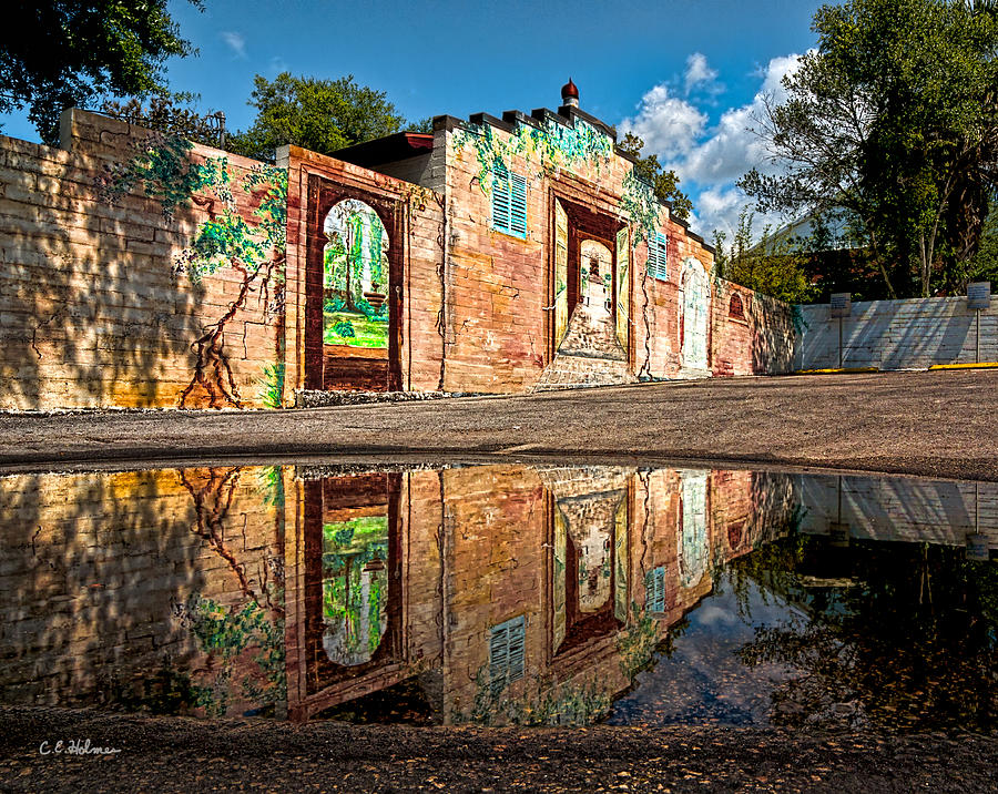 Structure Photograph - Mural Reflected by Christopher Holmes