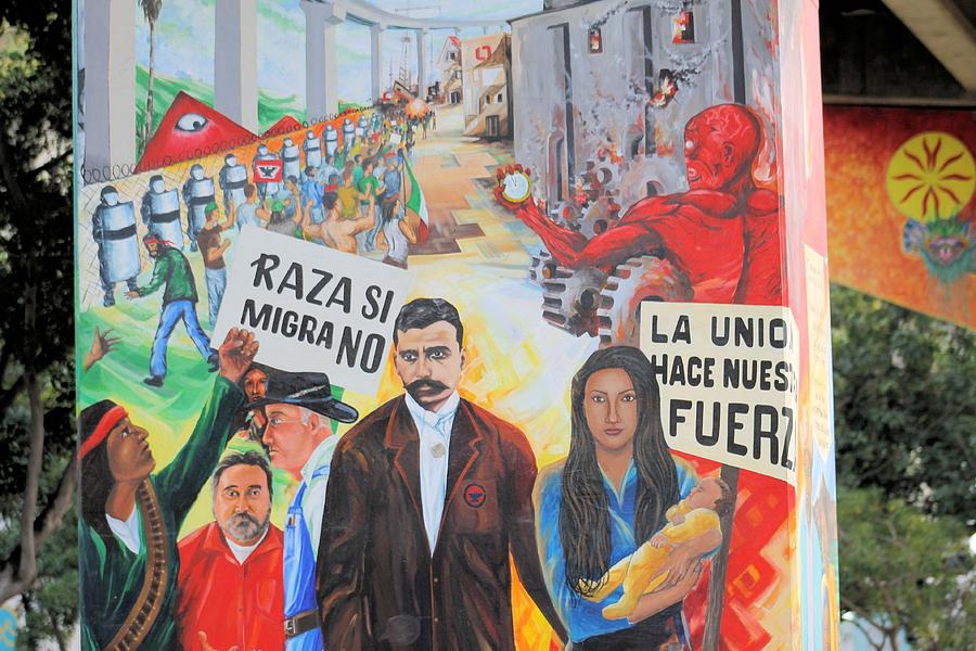 Murals in chicano park 6 photograph by g berry for Chicano mural movement