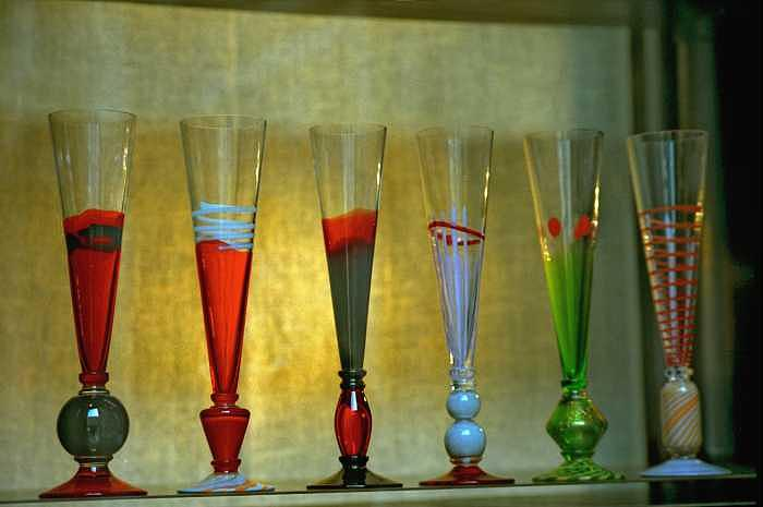 Venice Photograph - Murano Glasses In Venice by Michael Henderson