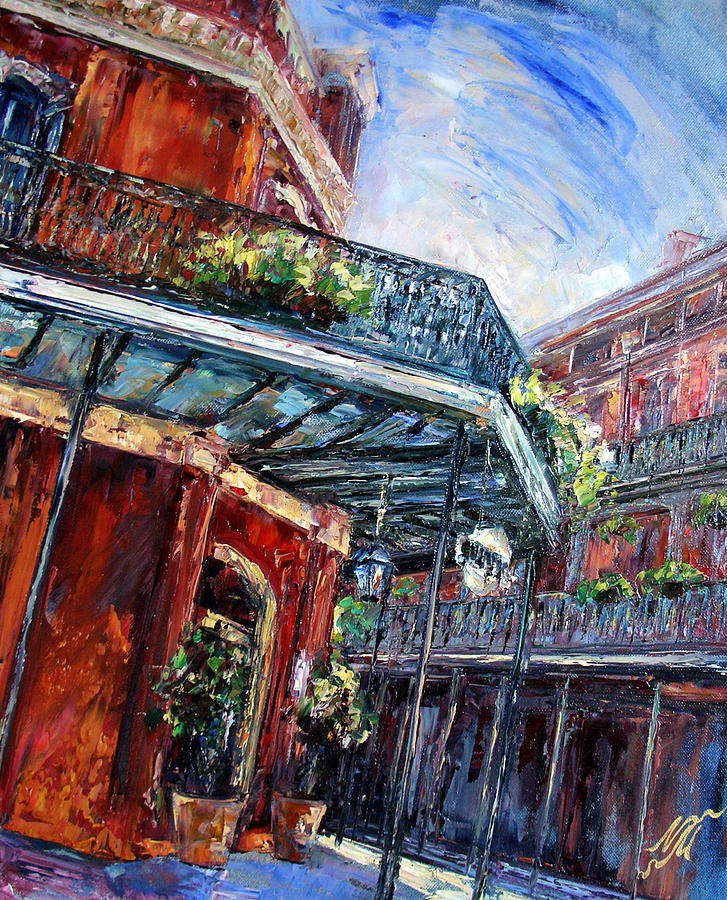 New Orleans Painting - Muriels by Natasha Mylius