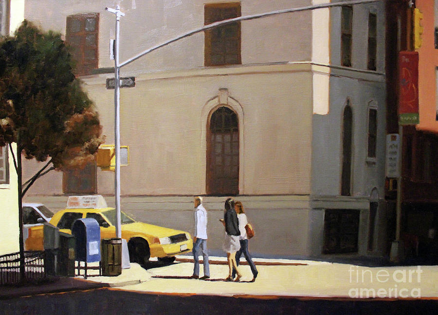 Cityscape Painting - Murray Hill by Tate Hamilton