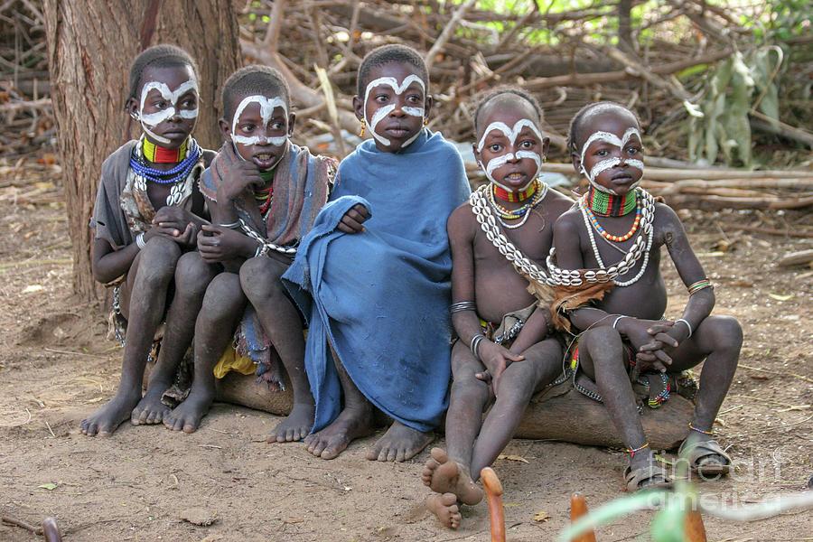 Woman, tribe Mursi, lip plate, Mago national park