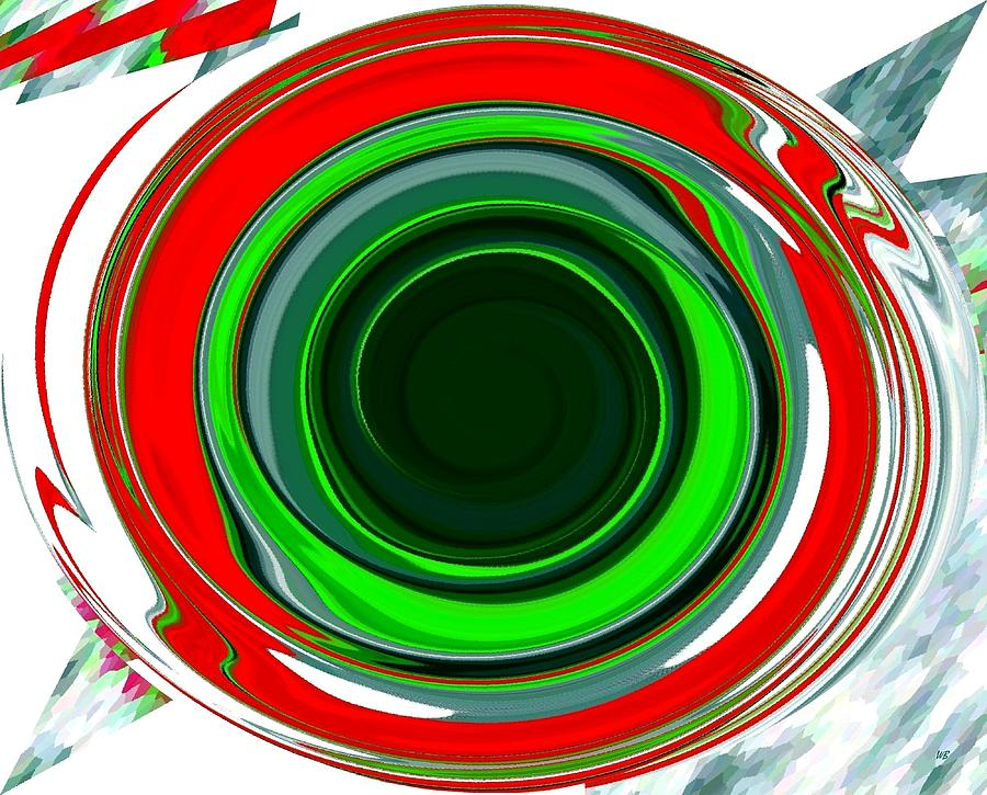 Abstract Digital Art - Muse 30 by Will Borden