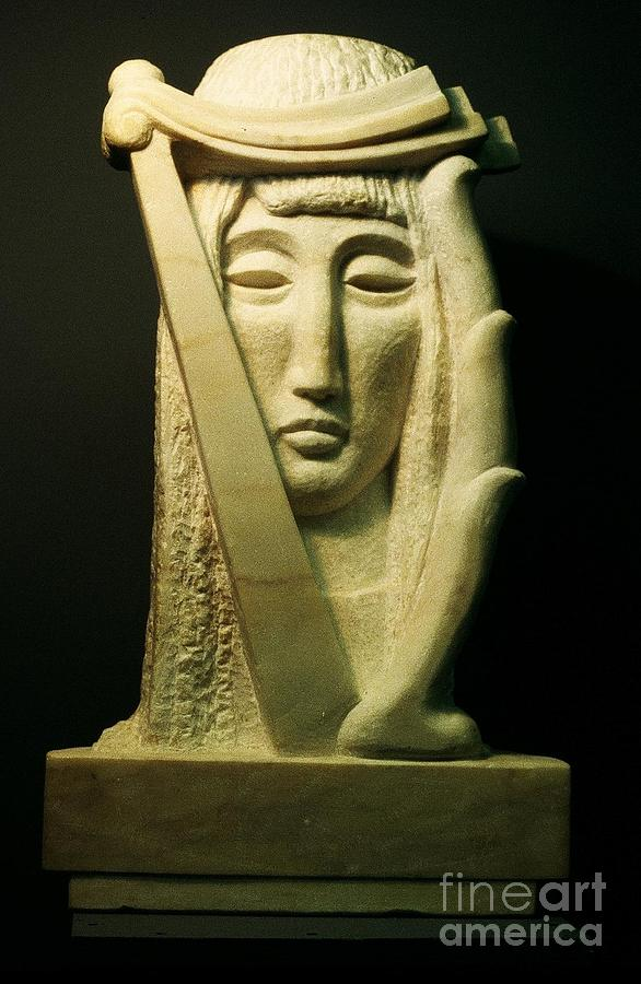 Muse Sculpture - Muse by Ushangi Kumelashvili