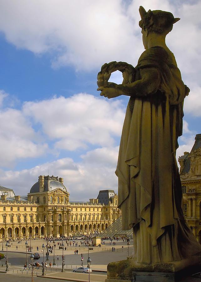 Paris France Photograph - Musee Du Louvre by Mick Burkey