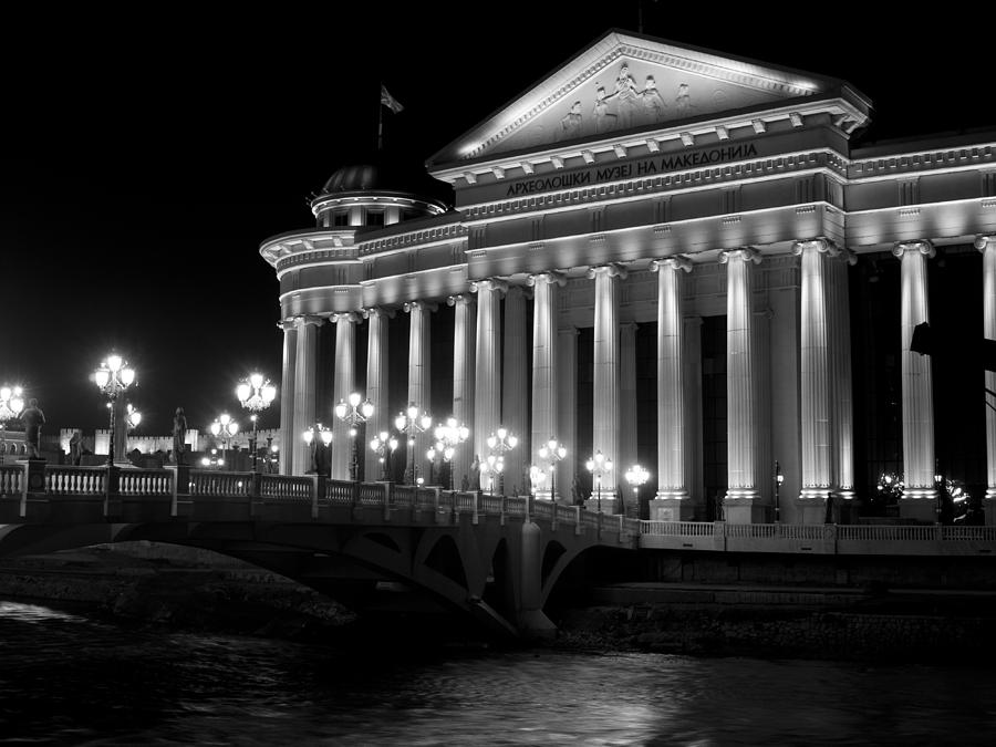 Skopje Photograph - Museum Of Archaeology by Rae Tucker