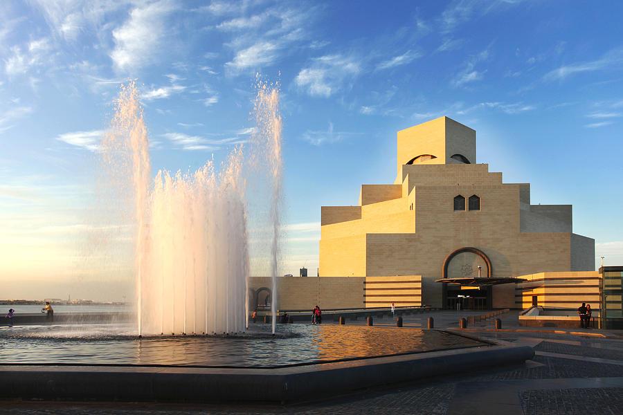 Museum of Islamic Art Doha Qatar by Paul Cowan