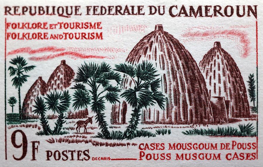 Africa Photograph - Musgum Houses by Dennis Naumick