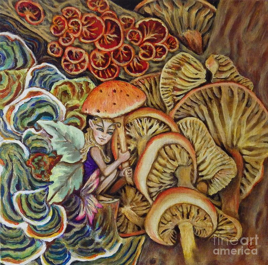 Mushroom Fairy by Linda Markwardt