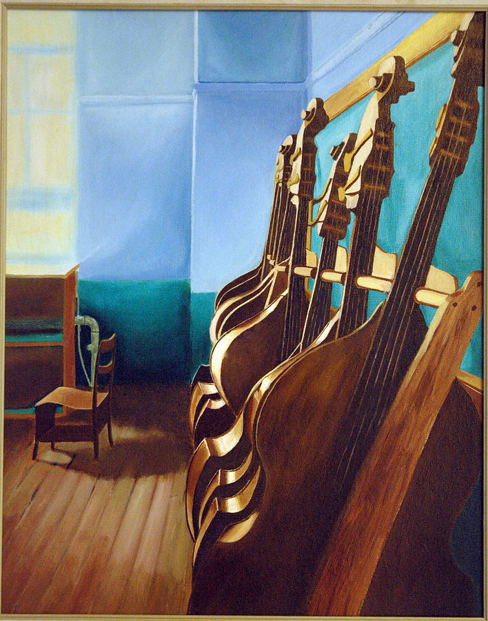 Musical Painting - Music And Art Fifth Floor by Tito Santiago