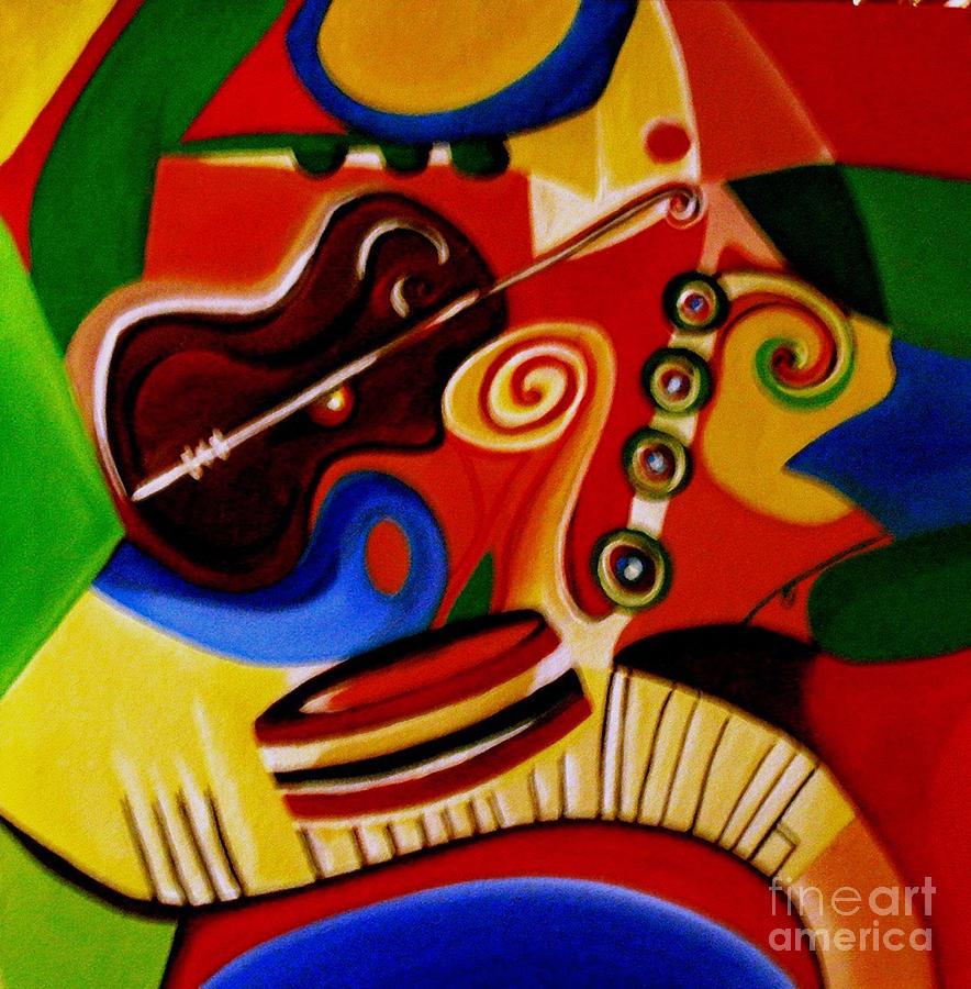 Modren Painting - Music Beats by Child