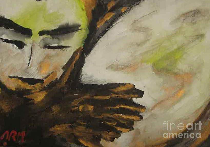 Music Daf Painting by Alireza  Mobtaker