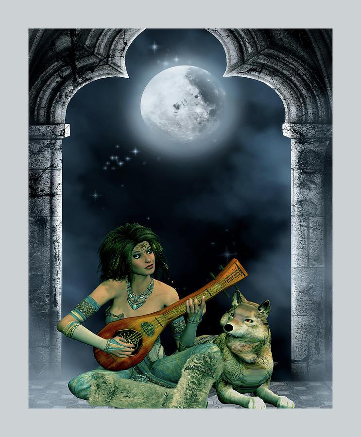 Music in the moonlight by John Junek