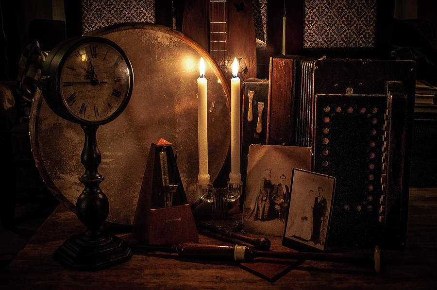 Still Life Photograph - Music by Kristy Creighton