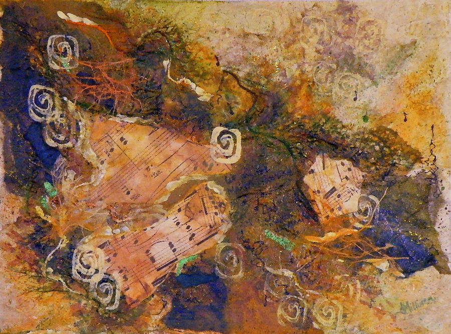 Mixed Media Painting - Music Makers by Tara Milliken