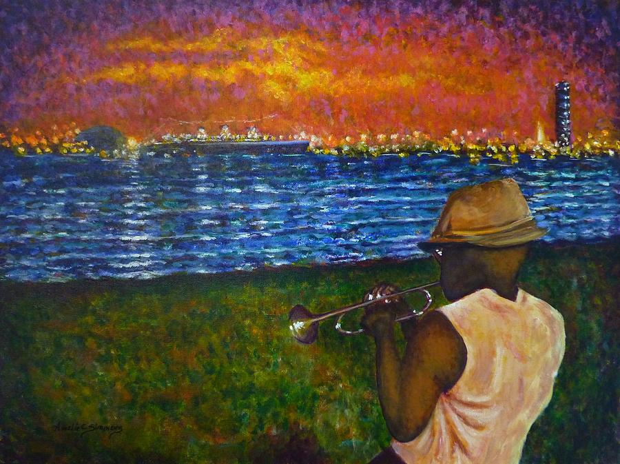 Music Man in the LBC by Amelie Simmons