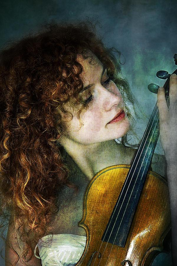 Girl Photograph - Music My Love by Zygmunt Kozimor