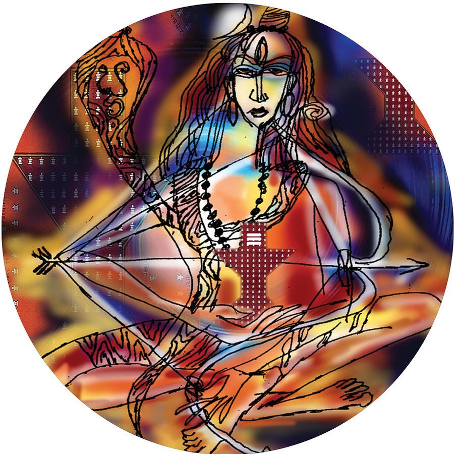 Music Shiva by Guruji Aruneshvar Paris Art Curator Katrin Suter