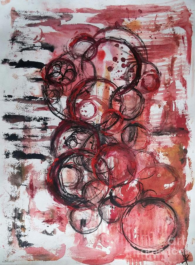 Music Spheres Painting