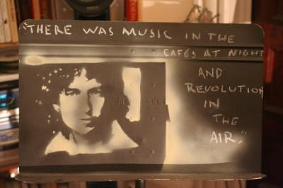 Music Stand Of Bob Dylan Painting by S Preston Duncan