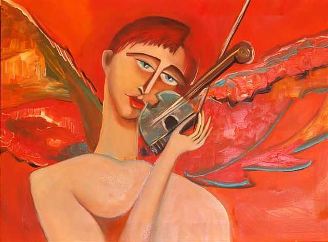 Musica Bonita Painting by Niki Sands